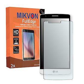 LG D722 screen protector - Mikvon FullEdge (screen protector with full protection and custom fit for the curved display)