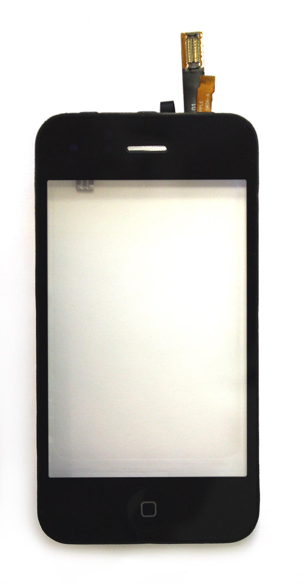 Apple iPhone 3G noir Compatible Digitizer Touch Screen