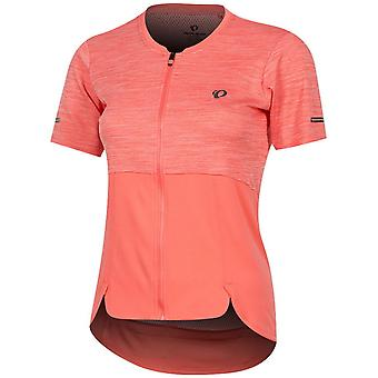Pearl Izumi Coral-Peach Symphony Womens Short Sleeved Cycling Jersey