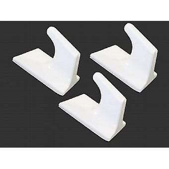 Self Adhesive Square Hooks Large 3/Pk (042262)