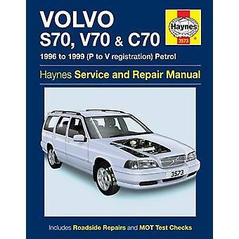 Volvo S70 - V70 & C70 Service and Repair Manual - 9780857339546 Book