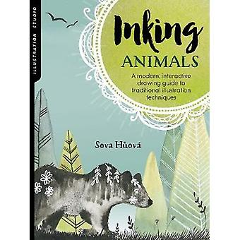 Illustration Studio - Inking Animals - A modern - interactive drawing g