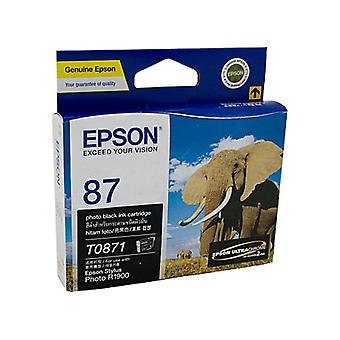 Epson T0871 Photo Black Ink