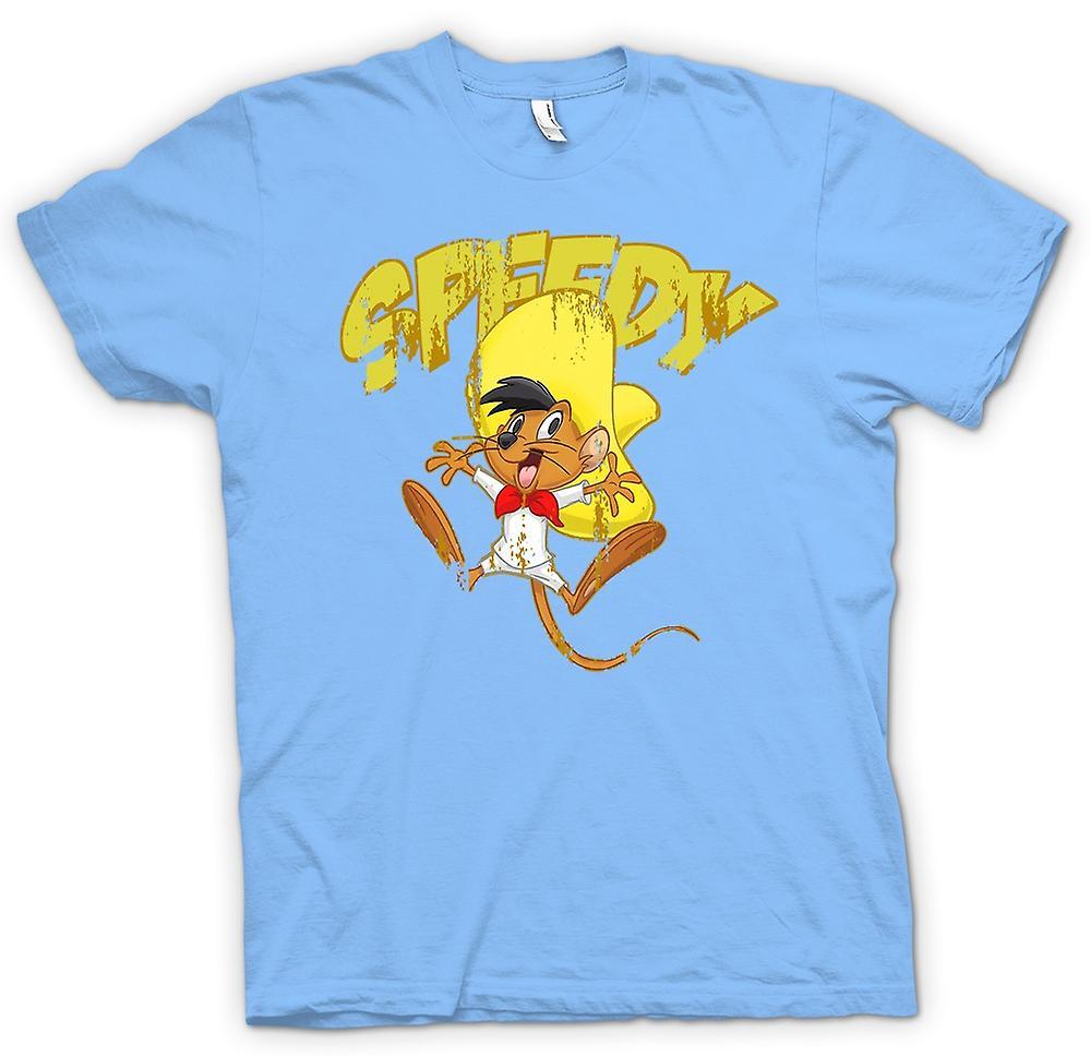 Mens T-shirt - rapide - Speedy Gonzales