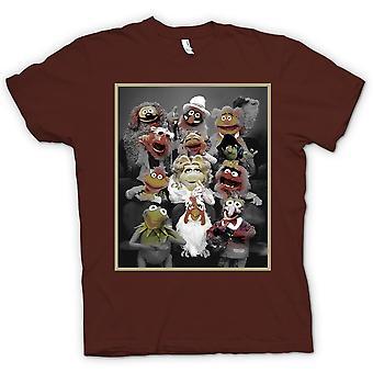 Mens T-shirt - Muppets Gang - Classic TV Show
