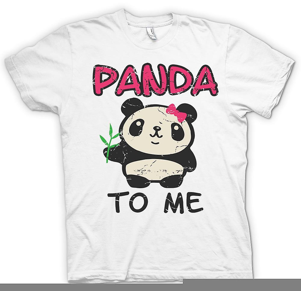 Womens T-shirt - Panda To Me - Funny Slogan