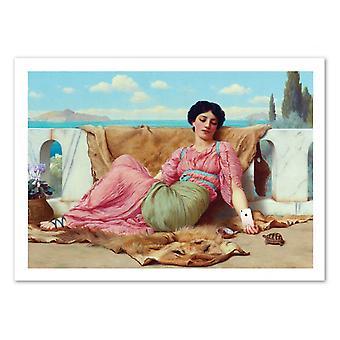 Konst-affisch-musik-José Luis Guerrero 50 x 70 cm