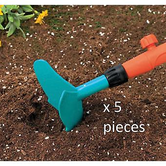 Gardena Bundle Hand Trowel Garden Attachment X 5 Pieces