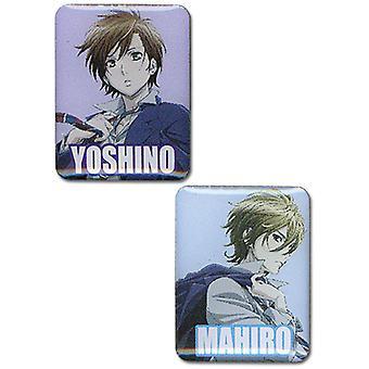 Pin Set - Explosión de tempestad - Nuevo Mahiro & Yoshino (Set de 2) Licenciado ge50102