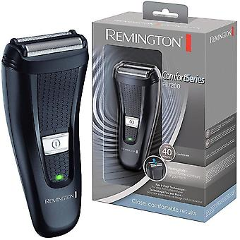 Remington PF7200 Hombres Travel Comfort Series Dual Flex Foil Cordless Rehaver Trimmer