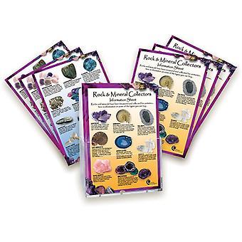 Rock und Mineral laminiert Informationskarte