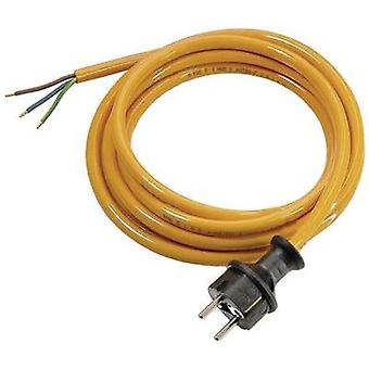 Current Cable [ PG plug - Cable, open-ended] Orange 3 m as - Schwabe 70909