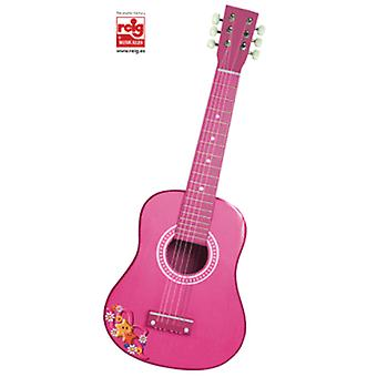 Reig Wooden guitar 65cm Rosa (Toys , Educative And Creative , Music , Instruments)