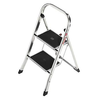 Hailo Mini Aluminum Ladder K30 (3 Steps) (DIY , Tools , Stairs and stools)