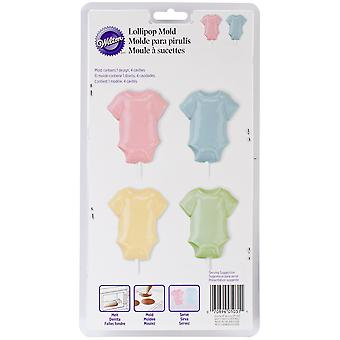 Lollipop Mold-Baby Tee 4 Cavity (1 Design) W0031