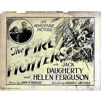 The Fire Fighters Movie Poster Masterprint