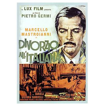 Divorcio - estilo italiano Movie Poster (11 x 17)