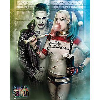 Selvmord Squad Joker og Harley Quinn Mini plakat