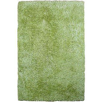 Varanasi Green Shaggy Modern Rug
