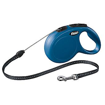 Flexi New Classic Cord Blue Small 12kg - 8m (26ft)