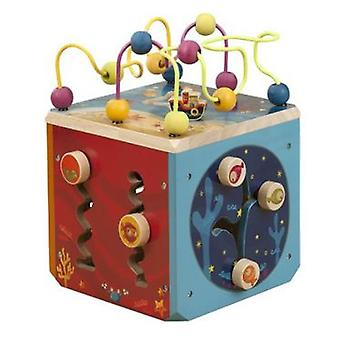 B. Underwater Zoo wood Nature activities Activity Cube