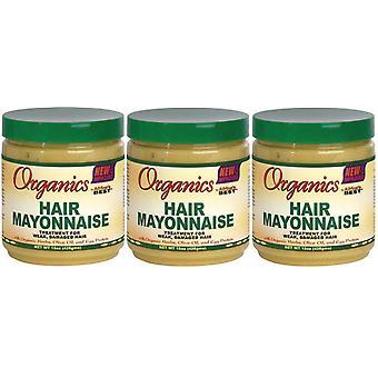 Afrikas bedste Organics hår Mayonnaise, 15 Oz - (3-Pack)