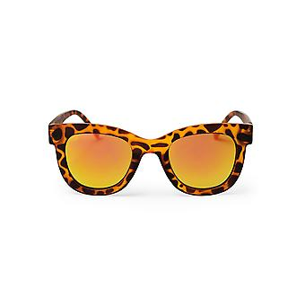 Cheapo Marais Sunglasses - Turtle Brown / Yellow Mirror