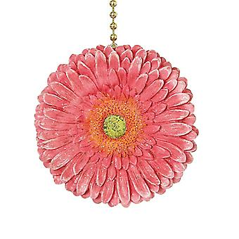 Floral Gerber Daisy Ceiling Fan Pull Chain Light Pull Three Dimensional