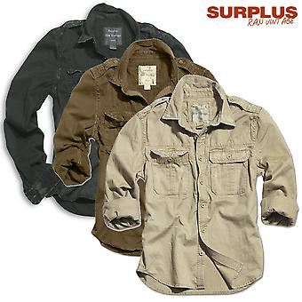 Surplus shirt long sleeve raw vintage