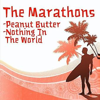 Marathons - Peanut Butter/Nothing in the World [CD] USA import