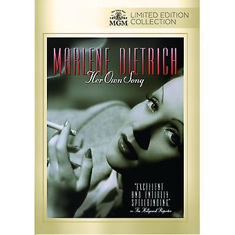 Marlene Dietrich: Su propia canción [DVD] USA importar