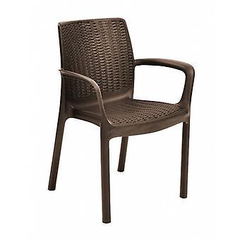 Keter Bali Brown Chair (Garden , Furniture and accessories , Chairs)