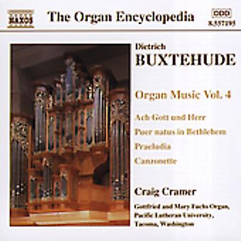D. Buxtehude - Buxtehude: Orgelmusik, Vol. 4 [CD] USA import
