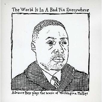 Forhånd Base - verden er i en dårlig Fix overalt EP [CD] USA import