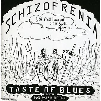 Smagen af Blues - Schizofrenia [CD] USA import