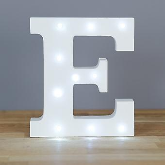 LED letter - Yesbox lights letter E