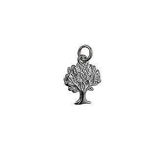 18x17mm argento ciondolo albero della vita o fascino