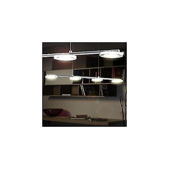 Eglo CARTAMA 4 Glass Circle Plates LED Ceiling Pendant