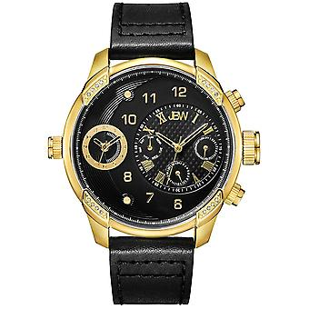JBW diamond men's stainless steel watch G3 - gold / black