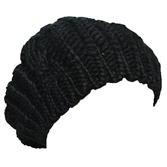 New Arrivals Lady Winter Warm Knitted Crochet Slouch Baggy Beret Beanie Hat Cap