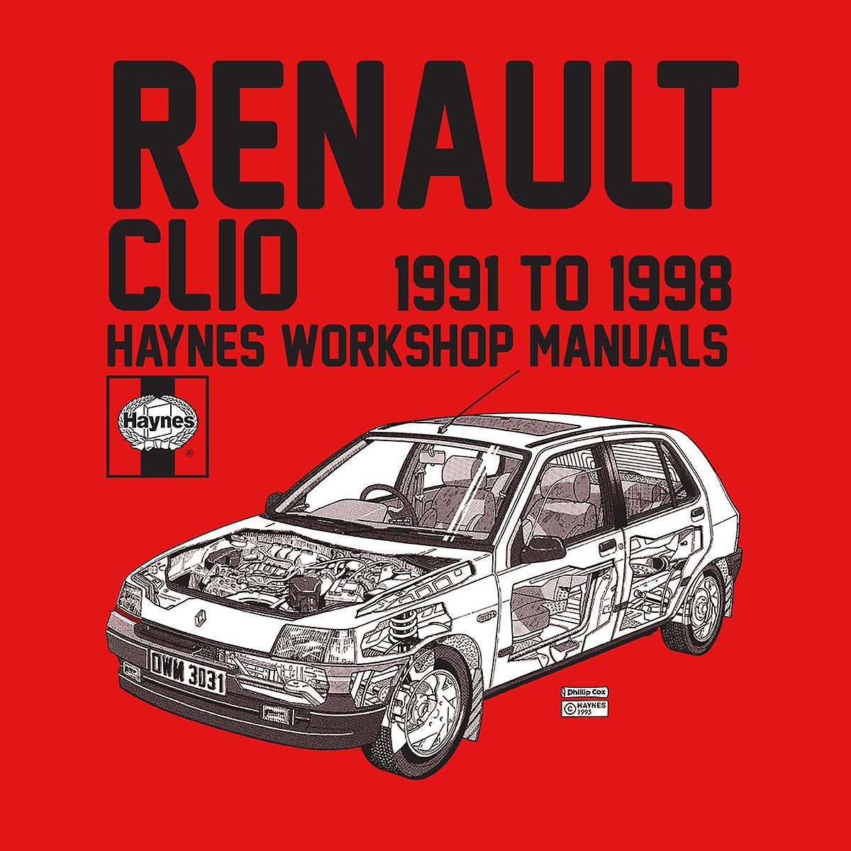 Haynes Owners Workshop Manual Renault Clio Black Kid's Varsity Jacket