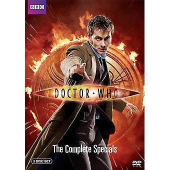 Doctor Who - Doctor Who: Complete Specials [DVD] USA import