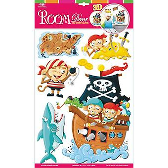 Legler Decorative Stickers  pirate Monkeys