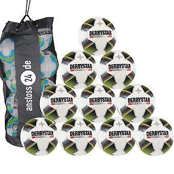 10 x DERBY STAR youth ball - JUNIOR PRO S-LIGHT includes ball sack