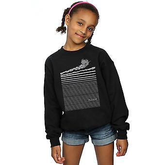 Wizard of Oz Girls Wicked Witch Flying Sweatshirt