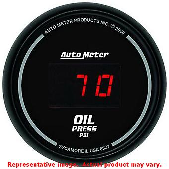 Auto Meter Sport-Comp Digital Gauge 6327 2-1/16in Range: 0-100psi Fits:UNIVERS