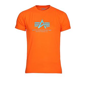 ALPHA INDUSTRIES Alpha Industries Basic cotone t-shirt | Orange