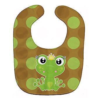 Carolines Treasures  BB8993BIB Frog Prince Baby Bib
