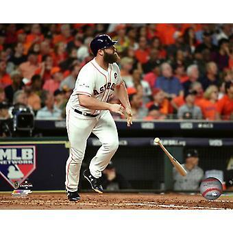 Evan Gattis Home Run Game 7 of the 2017 American League Championship Series Photo Print