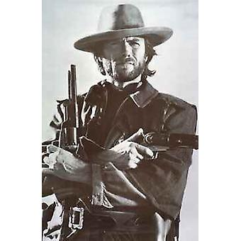 Clint Eastwood - Guns Poster Poster Print